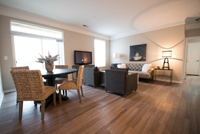 The Barker is a two bedroom apartment