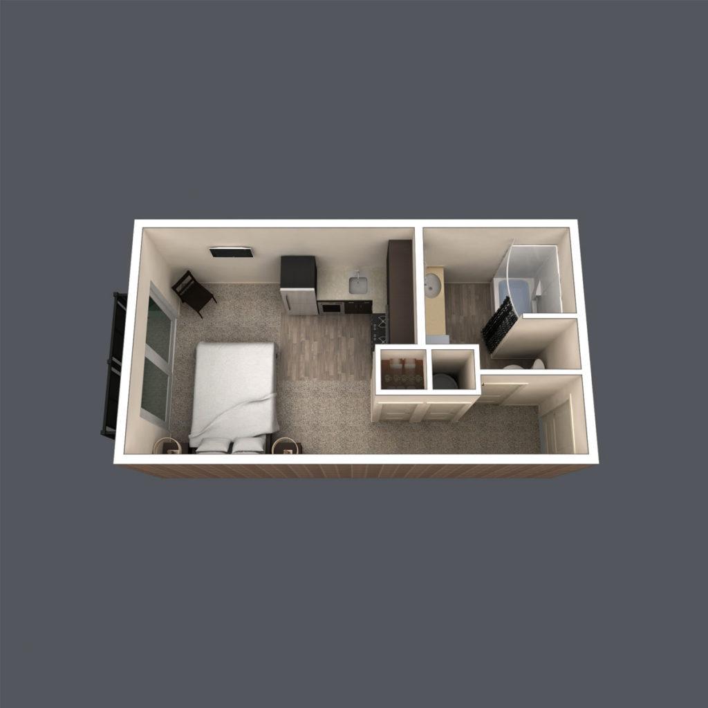 Chalet floor plan