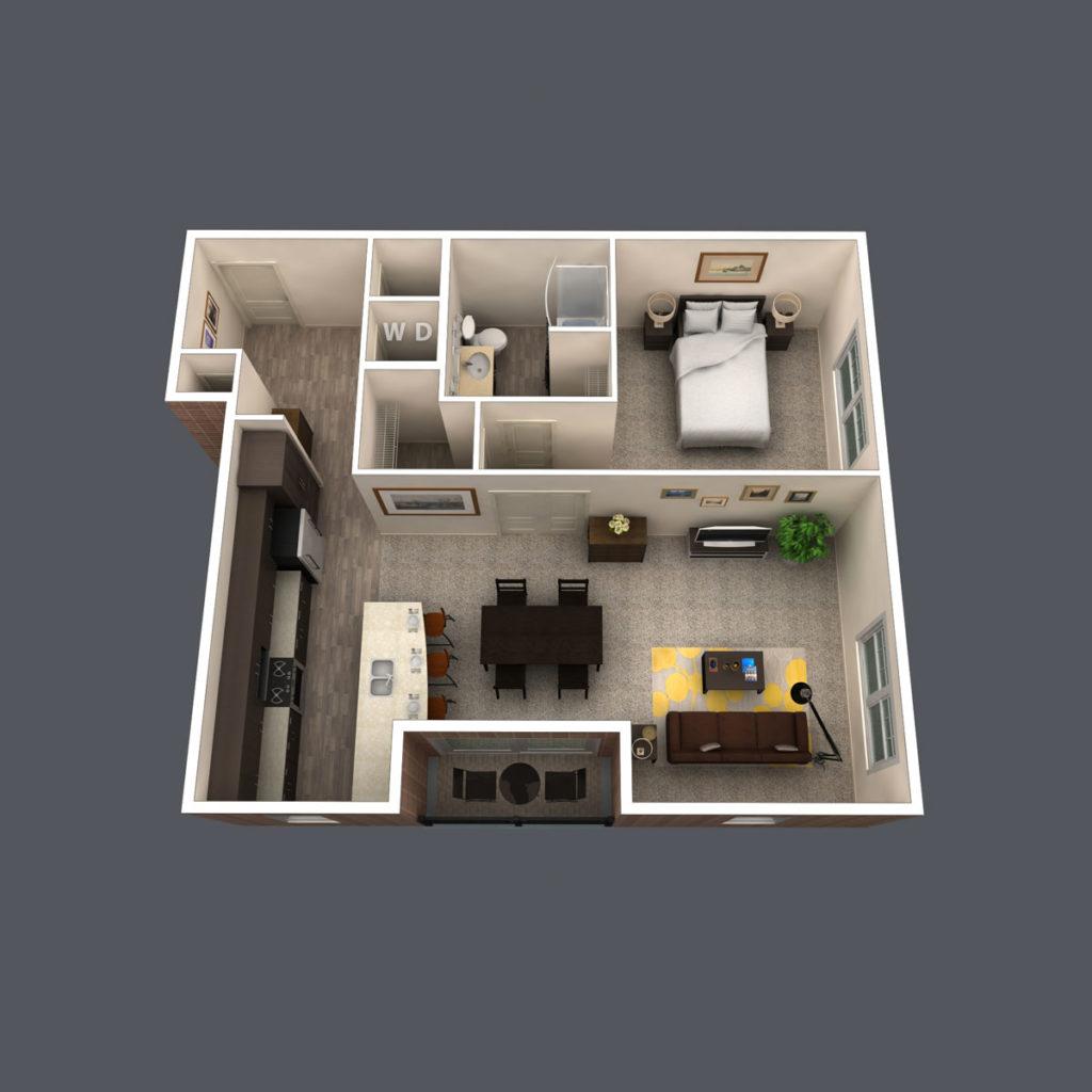Crest floor plan