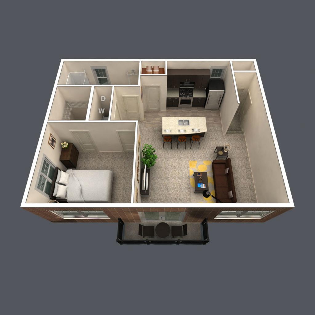 Highland floor plan